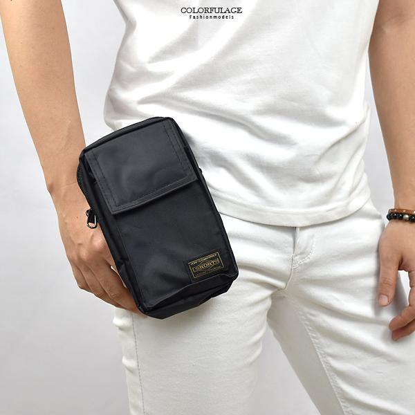 腰包 外出輕便斜側背小包 可繫腰間 NZD10