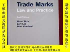 二手書博民逛書店Trade罕見Marks: Law and Practice (
