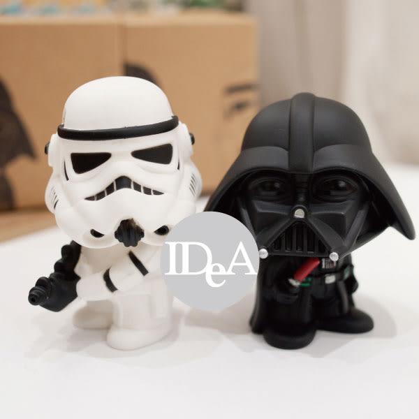 星際大戰7 原力覺醒 Star Wars VII 公仔 玩具擺飾 辦公室 玩偶擺件 尤達 帝國風暴兵 白兵 達斯維達