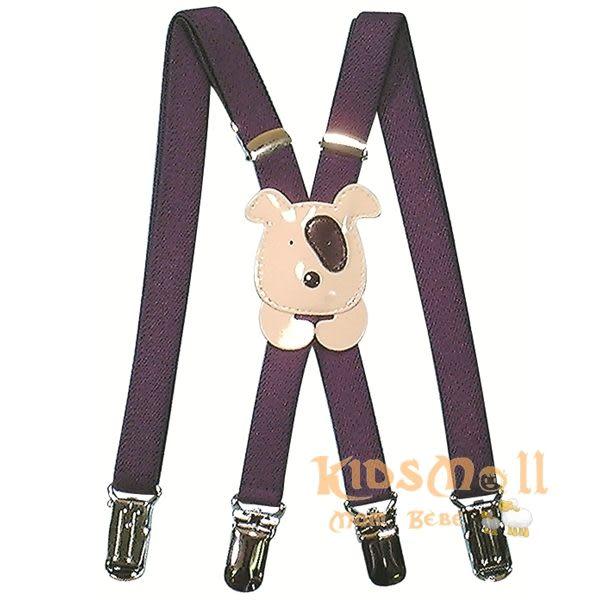 日本製Angel Dept,超可愛造型吊帶褲夾-小狗