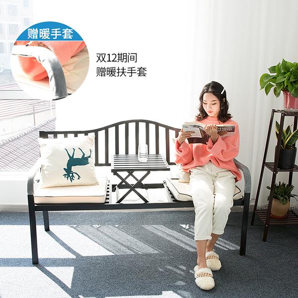 戶外桌椅陽台椅子鐵藝創意茶幾椅庭院三件套組合室外休閒露台MKS 【快速】