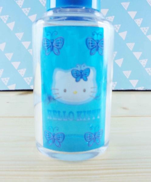 【震撼精品百貨】Hello Kitty 凱蒂貓~KITT造型玻璃瓶-紫蝴蝶