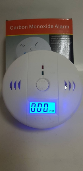 消防器材批發中心 獨立式一氧化碳)警報器(CO2 接電池型 居家安全 廠辦.滅火器(CE認證保固2年)