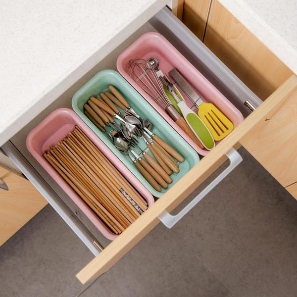 [超豐國際]塑料瀝水餐具收納盒廚房筷子盒 家用放刀叉勺子盒子餐具
