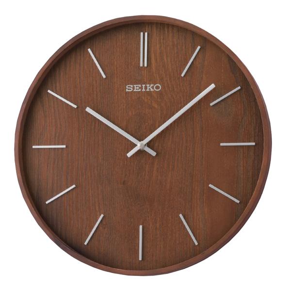 SEIKO 精工掛鐘 QXA765B SEIKO 掛鐘 木質簡約掛鐘 33.2公分