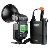 Godox 神牛AD360TTL-N kit 閃光燈套件: AD360TTL + PB960 快速回電電瓶 + 連接線 + 標準反射罩 + 柔光片