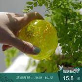 自動澆花器 塔莎的花園滴水器自動澆水神器懶人澆花出差家用玻璃小鳥滴灌灑水 7色