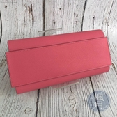BRAND楓月 HERMES 愛馬仕 A刻 粉色 粉紅色 PASSANT EVERCOLOR 長夾 錢夾 錢包