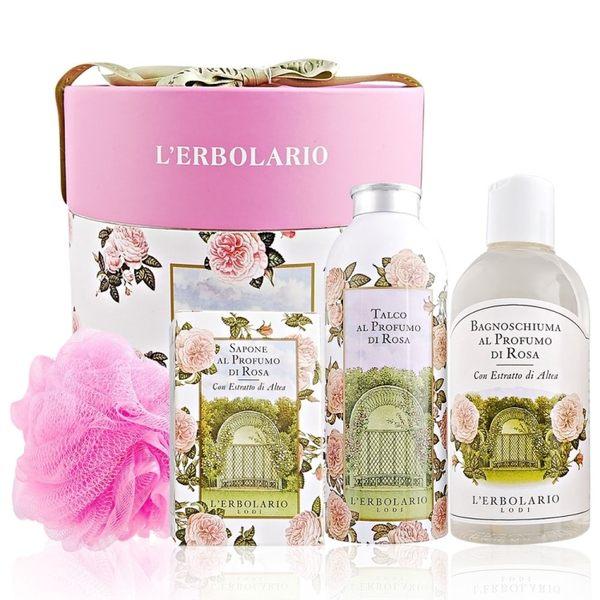 L'ERBOLARIO 蕾莉歐 玫瑰歐式典雅禮盒