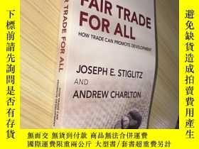 二手書博民逛書店Fair罕見Trade for All: How Trade C