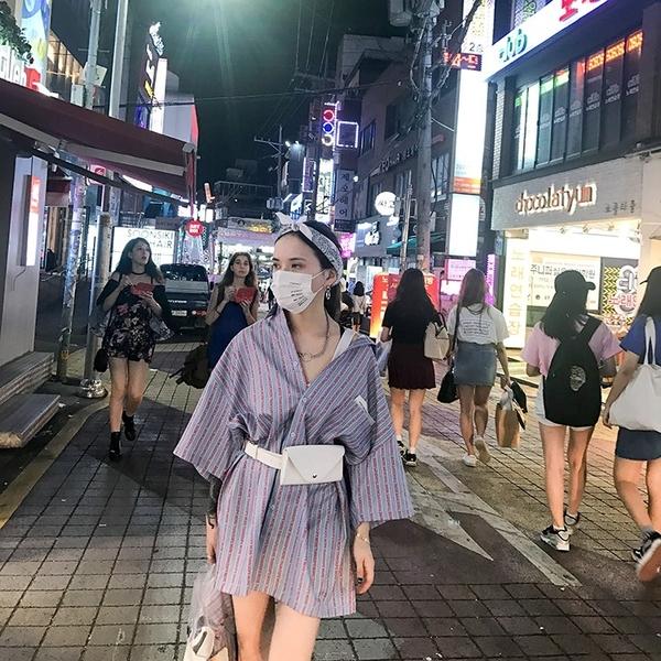 迷你包新款原宿小包韓版港風手機包街頭迷你小腰包小包包女士皮帶包新品推薦 夏季上新