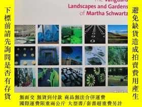 二手書博民逛書店The罕見Vanguard Landscapes and Gardens of Martha Schwartz 瑪
