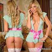 情趣內睡衣 深V 連身裙 Gaoria 天使吻痕 性感蕾絲情趣內衣 睡裙 滿額慾望之都情趣用品加潤滑液