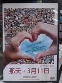 挖寶二手片-0B03-441-正版DVD-日片【那天3月11日】-(直購價)