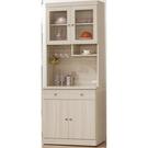 櫥櫃 餐櫃 PK-825-9 白雪杉耐磨...