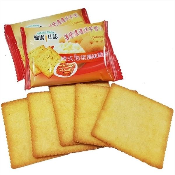 健康日誌洋芋脆餅-韓式泡菜 408g【4711402827213】(馬來西亞零食)