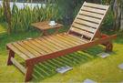 【南洋風休閒傢俱】戶外躺椅系列 -戶外實...