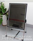 熒光板 led立式發光熒光板 廣告板展示黑板銀夜光招牌手寫字屏電子廣告牌 igo 玩趣3C