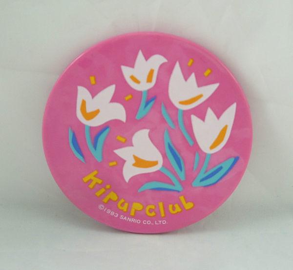 【震撼精品百貨】Kip Up Club_鬱金香百合花~鏡子『圓』