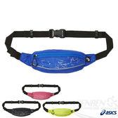 ASICS亞瑟士 反光印花小腰包(藍色點點) 慢跑單車皆適用 附零錢口袋 2015新品