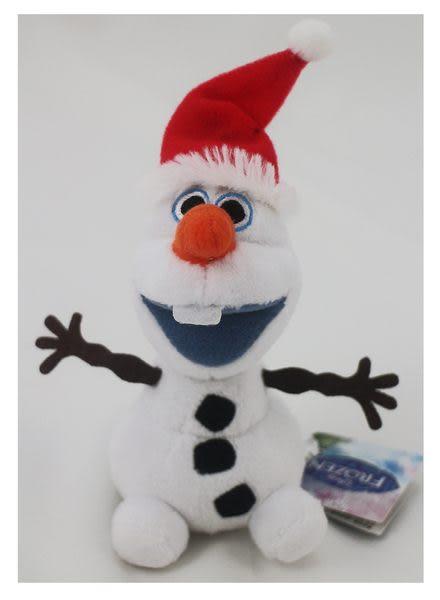 【卡漫城】雪寶 迷你 玩偶 11cm ㊣版 聖誕帽 迪士尼 冰雪奇緣 Frozen 鍊珠 絨毛娃娃 聖誕樹吊飾 裝飾