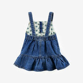 新年好禮 女童裙子兒童牛仔背帶裙童裝夏款 女寶寶連身裙1-3-8歲韓版春裝潮