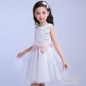 童裝禮服女童洋裝韓版蝴蝶結公主裙兒童藝術錶演禮