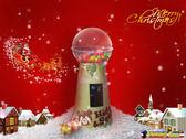 連假同樂會 夢幻水晶塔 大型扭蛋機 特殊造型扭蛋機 大型電玩 活動租賃 外觀客製化