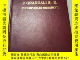 二手書博民逛書店EPITOME罕見E GRADUALI S. E. DE TEMPORE ET DE SANCTISY2434
