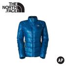 【The North Face 女 900FP FILL羽絨外套《亮藍》】A0JN/保暖外套/防潑水/輕量羽絨