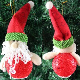 閃光聖誕老人 聖誕禮品擺件
