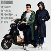 雨衣男女成人徒步戶外防雨套裝電動車摩托電瓶車單人加大加厚雨披『小淇嚴選』