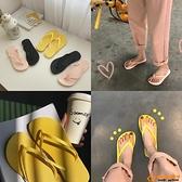 韓版夾腳拖鞋女夏平底外穿軟底防滑涼拖鞋海邊沙灘鞋超級品牌【桃子居家】