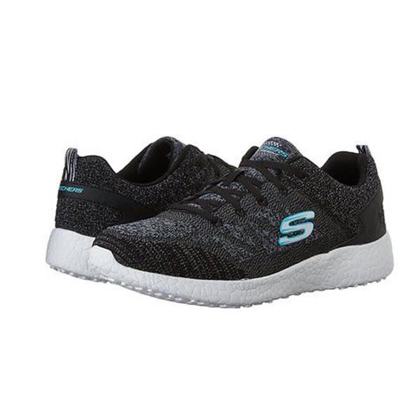 Skechers Burst 女 黑 灰 白 休閒運動鞋 透氣 記憶鞋墊 慢跑鞋 訓練鞋 健走鞋 12433BKW