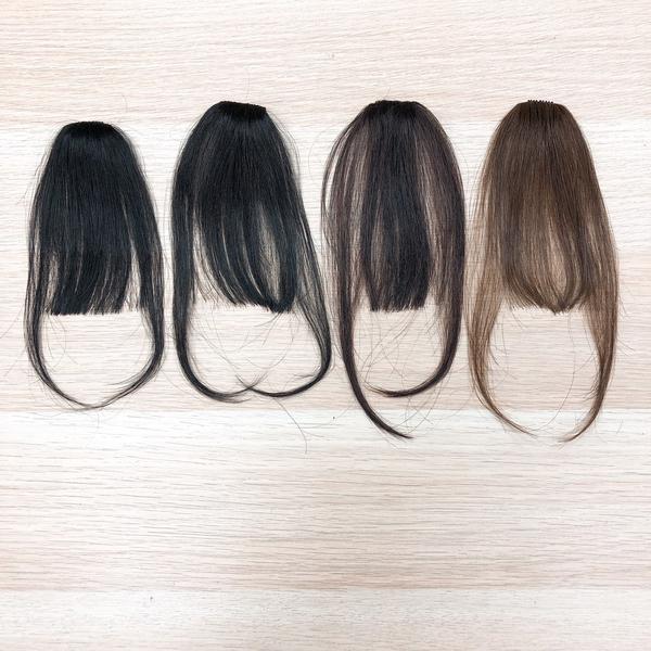 100%真髮 ㄇ型瀏海髮片 韓系空氣瀏海、妹妹頭 齊瀏海 L055 魔髮樂Mofalove