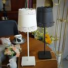 18PARK 蕾絲邊檯燈-黑含LED-4W黃光燈泡-生活工場