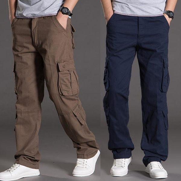 【618好康又一發】登山運動褲休閒多袋褲男士直筒