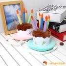 吉仔仔寵物生日帽萬圣活動節日禮帽頭飾寵物表演用品水果蛋糕帽【小獅子】