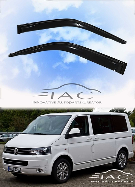 Volkswagen Volkswagen VW 福斯 Transporter T5 2003-2015 台製晴雨窗 【IAC車業】