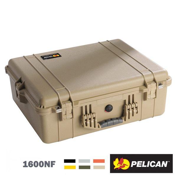 【EC數位】美國 派力肯 PELICAN 1600NF 氣密空箱 防撞箱 保護箱 防水 防爆 防震 防塵 耐衝擊