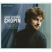 【停看聽音響唱片】【CD】蕭邦:馬厝卡舞曲 / 第三號鋼琴奏鳴曲 盧卡斯·傑努薩斯 鋼琴