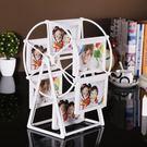 現代簡約摩天輪相框擺臺5寸7寸組合擺件 生日禮物 jy【週年店慶好康八折】