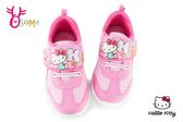 Hello kitty 運動鞋 女童 網布透氣 MIT慢跑鞋 G7992#粉紅◆OSOME奧森童鞋