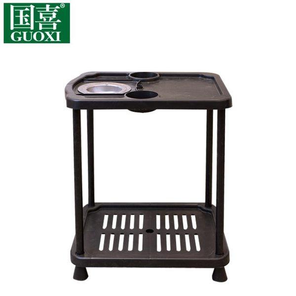 麻將機茶幾配件水杯架桌邊煙灰缸麻將棋牌室館旁邊的放小水杯架子igo