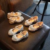 春款單鞋2女孩子帶?5公主鞋女童