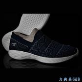 【懶人鞋】SKECHERS 女休閒鞋 輕量舒適好穿 高彈性中底適合久走久站 深藍色鞋面  【1483】