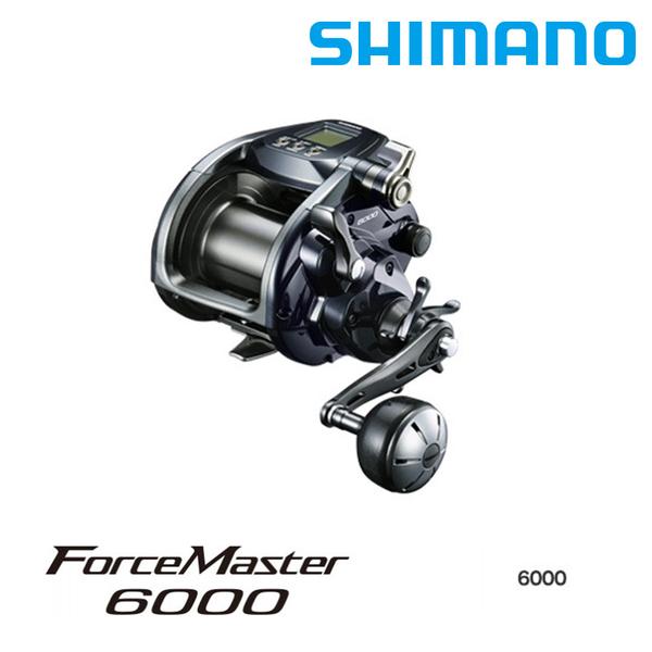 [送2000元折價券] 漁拓釣具 SHIMANO 20 FORCE MASTER 6000 [電動捲線器]