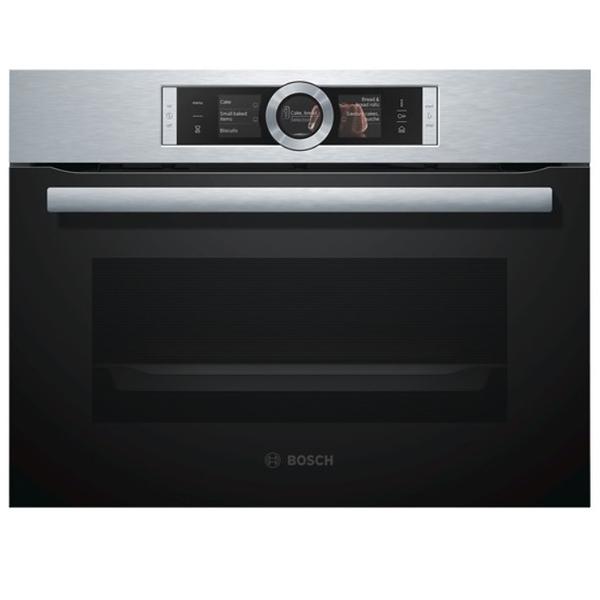BOSCH 德國 博世 CSG656RS1 嵌入式蒸烤爐 (220V,45cm)高 【07-7428010】