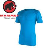 【MAMMUT 瑞士 男款 MTR71 T-shirt《大西洋藍》】1041-07750/短袖/圓領T恤/吸濕排汗★滿額送