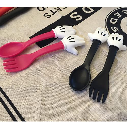 童餐具 卡通造型手掌款餐具組 B7J002 AIB小舖